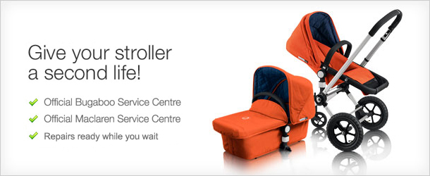 Strollerservice gives your stroller a second life.
